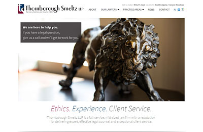 thornborough-smeltz-calgary-website-redesign