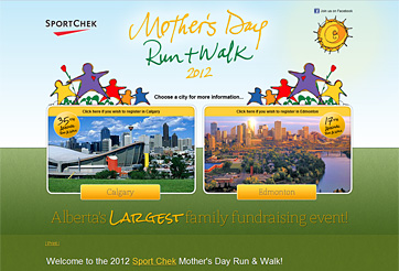 Sport Chek Mother's Day Run and Walk